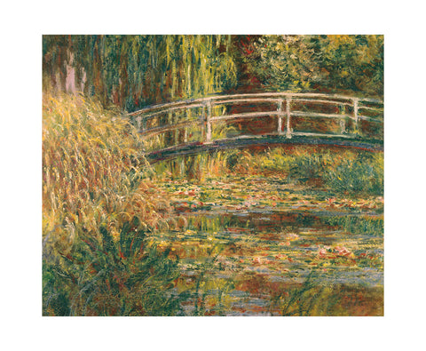 Water Lily Pond - Pink Harmony -  Claude Monet - McGaw Graphics