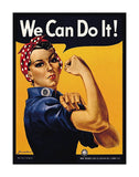 We Can Do It! -  J.H. Miller - McGaw Graphics