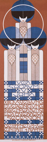 XIII Ausstellung-Secession, 1902 -  Koloman Moser - McGaw Graphics