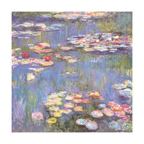 Water Lilies, 1916 -  Claude Monet - McGaw Graphics