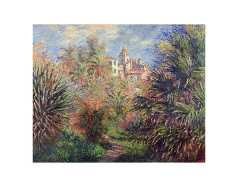 Gardens at Bordighera, 1884 -  Claude Monet - McGaw Graphics