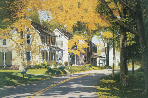 Creek Road -  Gene McInerney - McGaw Graphics