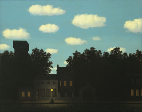 Rene Magritte - The Empire of Light II, 1950