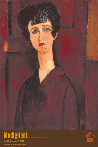 Portrait of a Girl (Victoria) -  Amedeo Modigliani - McGaw Graphics
