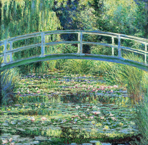 The Water Lily Pond and Bridge