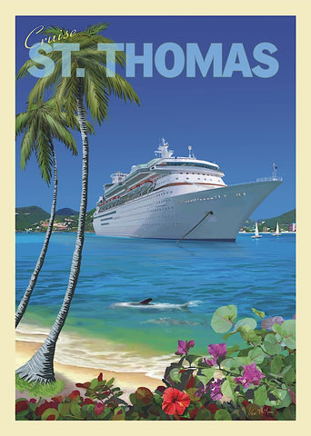 Cruise St. Thomas -  Kem McNair - McGaw Graphics