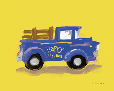 Happy Hauling -  Anthony Morrow - McGaw Graphics