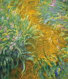 Claude Monet - The Path in the Iris Garden