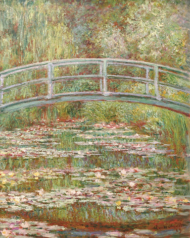 Water Lily Pond, 1899 -  Claude Monet - McGaw Graphics