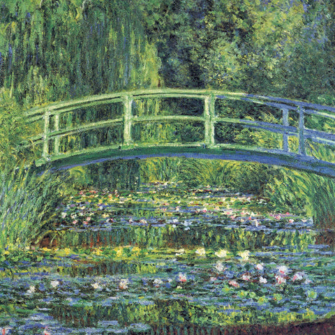 Water Lily Pond, 1899 (blue) -  Claude Monet - McGaw Graphics