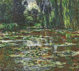 Claude Monet - The Bridge Over the Water Lily Pond, 1905