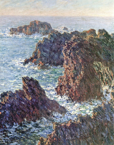 Claude Monet - Rock Points at Belle-Ile, 1886