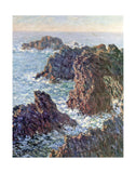 Rock Points at Belle-Ile, 1886