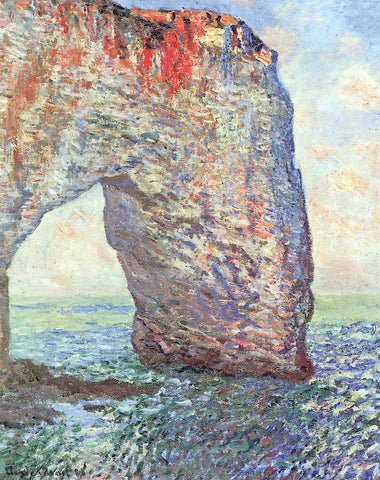 Claude Monet - The Manneporte near Etretat, 1886