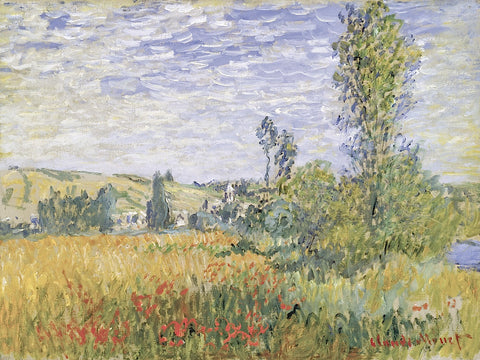 Landscape at Vetheuil -  Claude Monet - McGaw Graphics