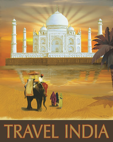 Travel India -  Kem McNair - McGaw Graphics