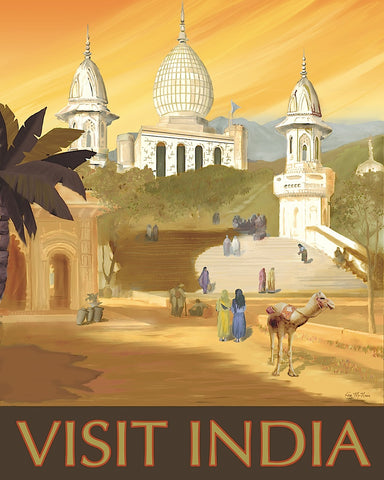 Visit India -  Kem McNair - McGaw Graphics