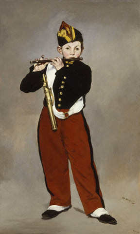 The Fifer, 1866 -  Edouard Manet - McGaw Graphics