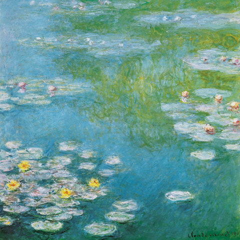 Nympheas at Giverny -  Claude Monet - McGaw Graphics