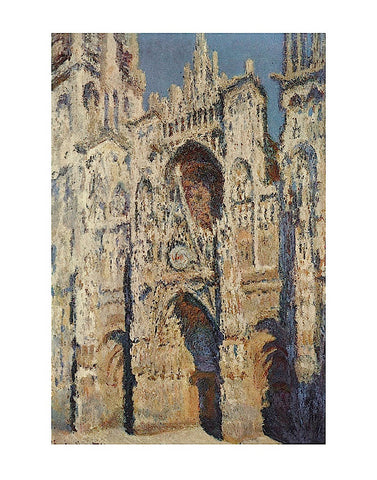 The Portal and the Tour d'Albane in the Sunlight, 1984 -  Claude Monet - McGaw Graphics
