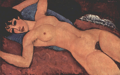 Nude -  Amedeo Modigliani - McGaw Graphics