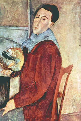 Self Portrait -  Amedeo Modigliani - McGaw Graphics