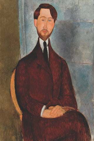 Portrait of Leopold Zborowski -  Amedeo Modigliani - McGaw Graphics