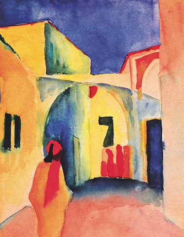 August Macke - The Casbah