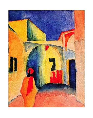 The Casbah -  August Macke - McGaw Graphics