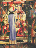Large Bright Showcase -  August Macke - McGaw Graphics