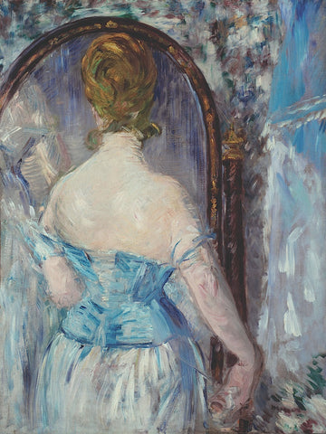 Before the Mirror -  Edouard Manet - McGaw Graphics