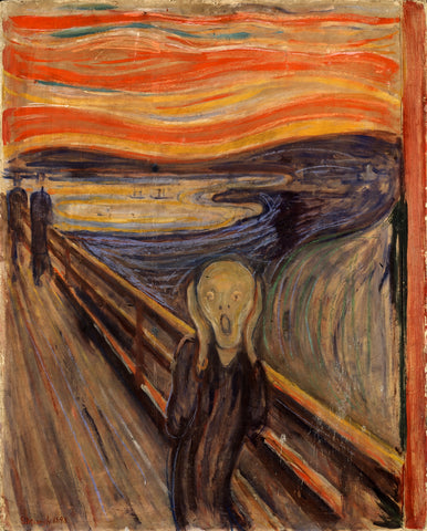 The Scream -  Edvard Munch - McGaw Graphics