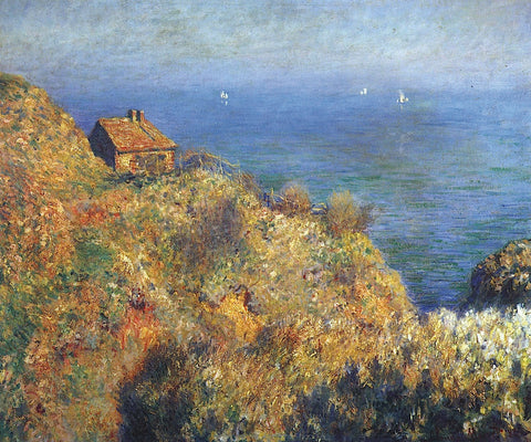 Fisherman's Lodge at Varengeville -  Claude Monet - McGaw Graphics