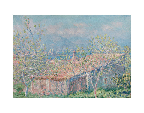 Gardener's House at Antibes, 1888 -  Claude Monet - McGaw Graphics