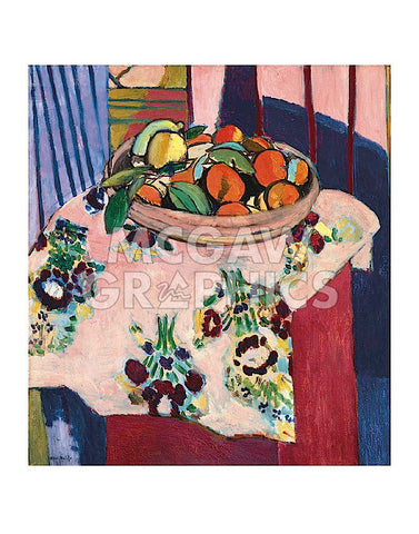 Basket with Oranges -  Henri Matisse - McGaw Graphics