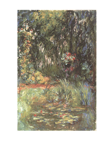 Water Lily Pond, 1918 -  Claude Monet - McGaw Graphics