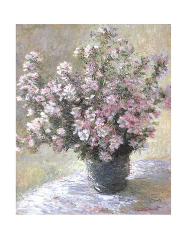 Vase of Flowers -  Claude Monet - McGaw Graphics