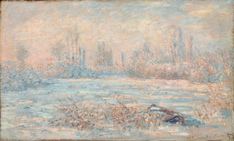 Le Givre, 1880 -  Claude Monet - McGaw Graphics