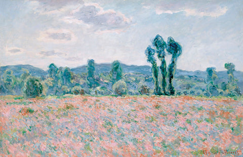 Claude Monet - Poppy Field, 1890
