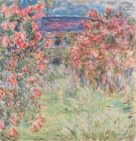 Claude Monet - The House Among the Roses, between 1917 and 1919