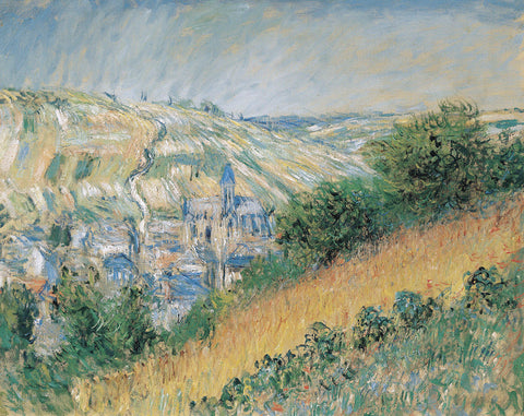 View of Vétheuil, 1881 -  Claude Monet - McGaw Graphics