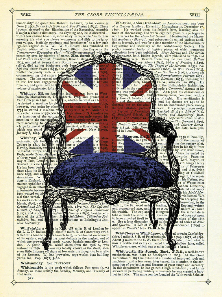 Marion McConaghie   Union Jack Chair