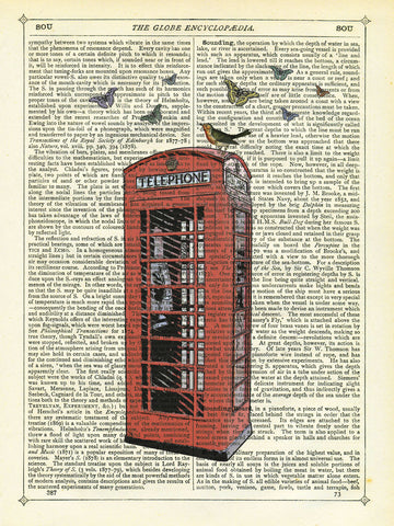 Red Telephone Box -  Marion McConaghie - McGaw Graphics