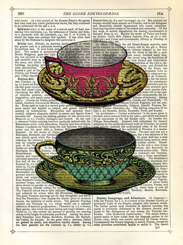 Vintage Cups -  Marion McConaghie - McGaw Graphics