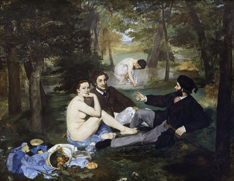 Edouard Manet - Luncheon on the Grass, 1863