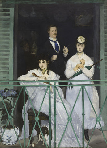 The Balcony, 1868 -  Edouard Manet - McGaw Graphics