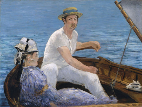 Boating, 1874 -  Edouard Manet - McGaw Graphics