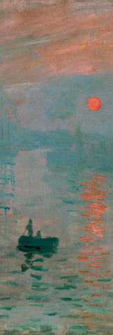 Claude Monet - Impression, Sunrise, c. 1872 (detail)