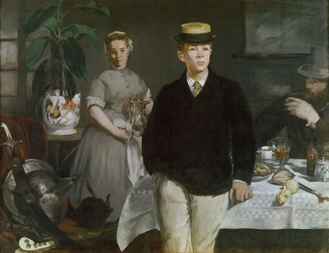 Edouard Manet - Luncheon in the Studio, 1868