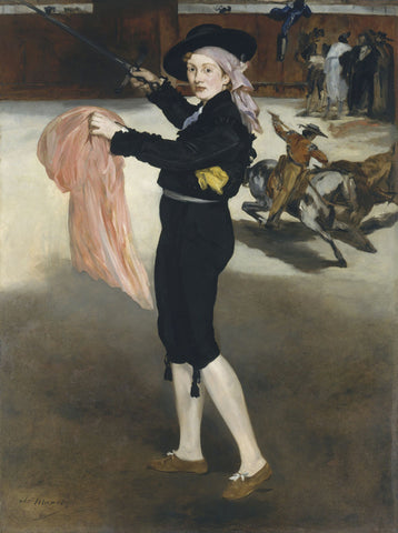 Edouard Manet - Mlle Victorine Meurent in the Costume of an Espada, 1862